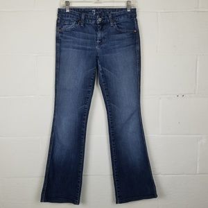 "7 For All Mankind ""A"" Pocket Flare Leg Jeans"